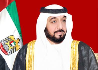His Royal Highness Sheikh Khalifa bin Zayed al Nahyan,President of UAE and The Ruler of Abu Dhabi